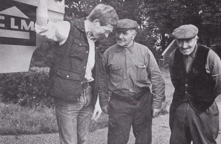 1973 Johan de Lange met Berend en Henrdik Borger