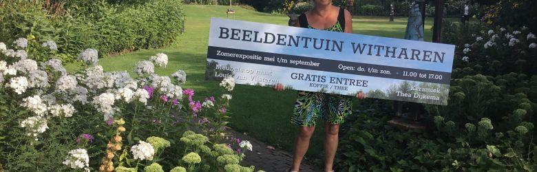 Zomerexpositie 2019 van Beeldentuin Witharen gaat dit jaar pas open vanaf 1 mei