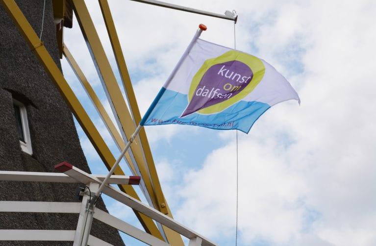 "Afgelast ivm coronavirus: 2 en 3 mei Kunstweekend Kunst om Dalfsen. Thema ""vlag en wimpel"""