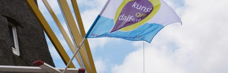 """2 en 3 mei Kunstweekend Kunst om Dalfsen. Thema """"vlag en wimpel"""""""