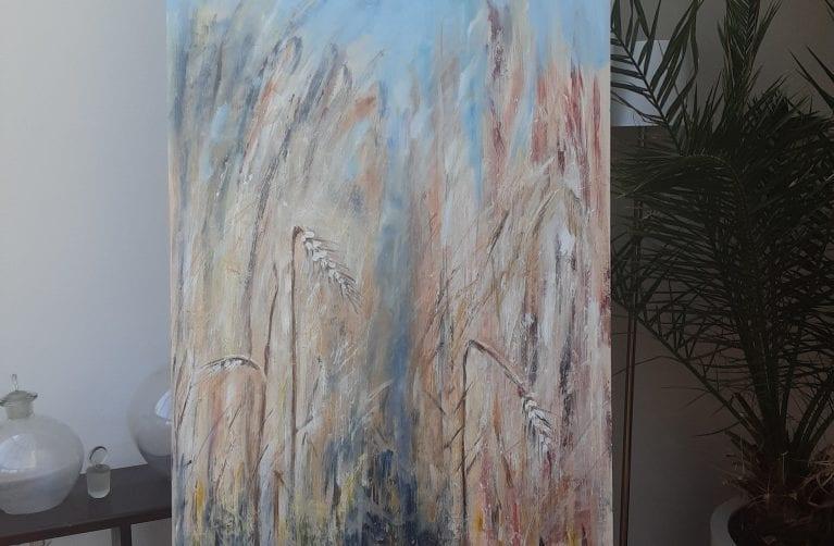 """Anne Miek Kuipers gastexposant expositie""""75 jaar vrijheid"""" in Beeldentuin Witharen"""