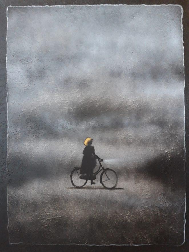 """Danielle Tesselaar gastexposant """"75 jaar Vrijheid"""" in Beeldentuin Witharen"""