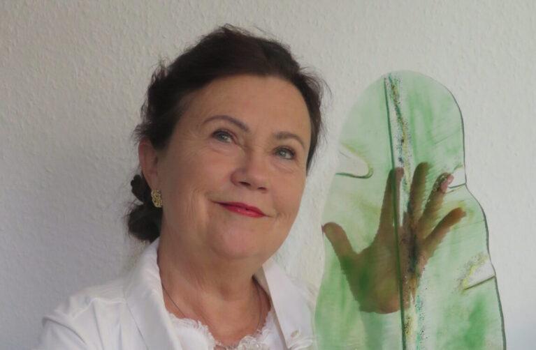 Christiene Kucinski, glas: exposant Beeldentuin Witharen 2021