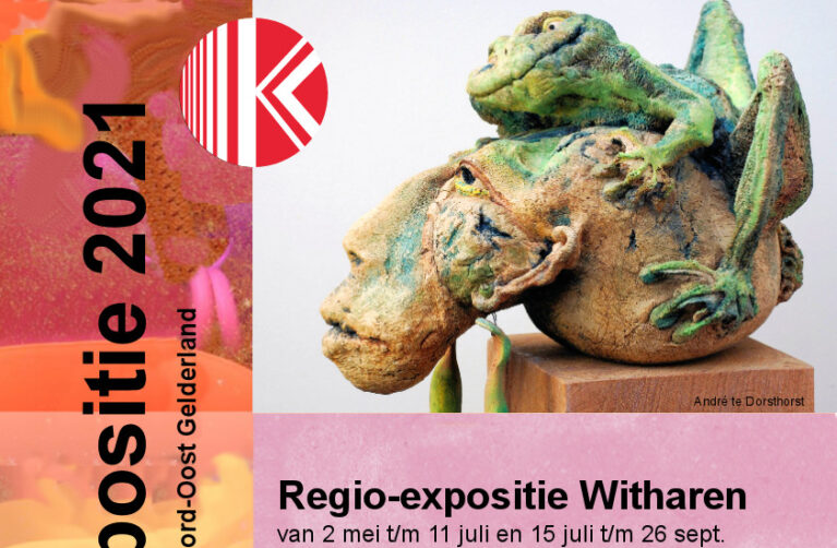 Regio expositie Stichting Keramisten Noord Nederland in Beeldentuin Witharen
